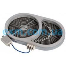 Конфорка для стеклокерамической поверхности Whirlpool 481231018896 для плиты