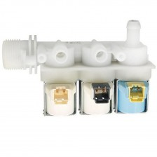 Клапан тройной Ariston, Indesit C00110331 под фишку с сушкой для стиральной машины