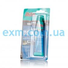 Универсальный силиконовый герметик Akfix 100E 50 мл бесцветный для бытовой техники