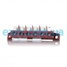 Клеммная колодка 40A (3-фазы 380V) Ariston, Indesit C00010348 для плиты