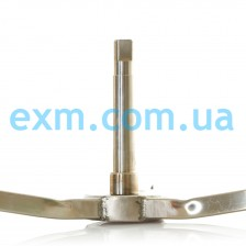 Крестовина Ariston, Indesit C00113810 (6202, 6203, 22*40*8/11,5 длинный вал, нержавеющая сталь) для стиральной машины