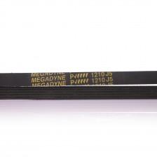 """Ремень 1210 J5 """"Megadyne"""" черный, жесткий для стиральной машины"""