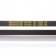 """Ремень 1263 H8 EL """"Megadyne"""" для стиральной машины"""