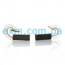 Щетки угольные 5*12,5*35 клееные SKL, провод по центру с пружинкой для стиральной машины