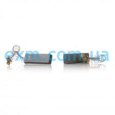 Щетки угольные 5*12,5*36 клееные (154740), провод по центру с пружинкой для стиральных машин