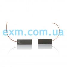 Щетки угольные 5*13,5*40 клееные, провод по центру для стиральной машины